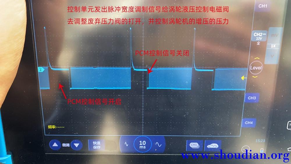 1示波器检测汽车涡轮增压电磁阀波形及分析.jpg