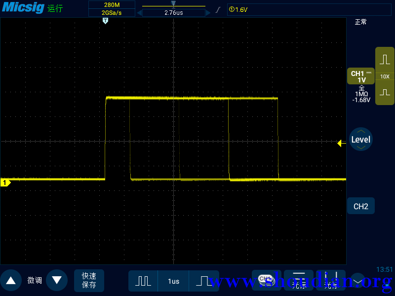 1波形抖动,合理利用触发稳定波形.png